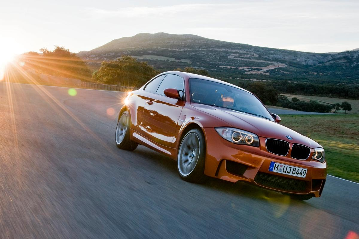 The BMW 1 Series M Coupe