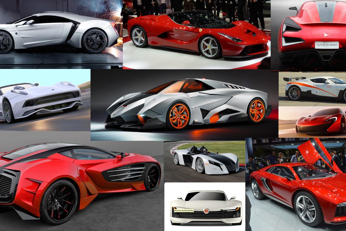 2014 was a big year for high-tech, high-price supercar hardware