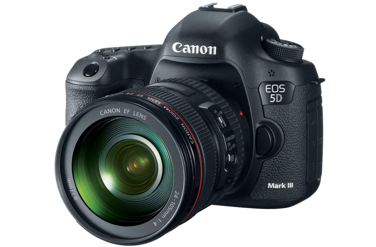 Canon is celebrating the 25 year anniversary of its EOS line with the release of the 22.3 megapixel EOS 5D Mark III digital SLR