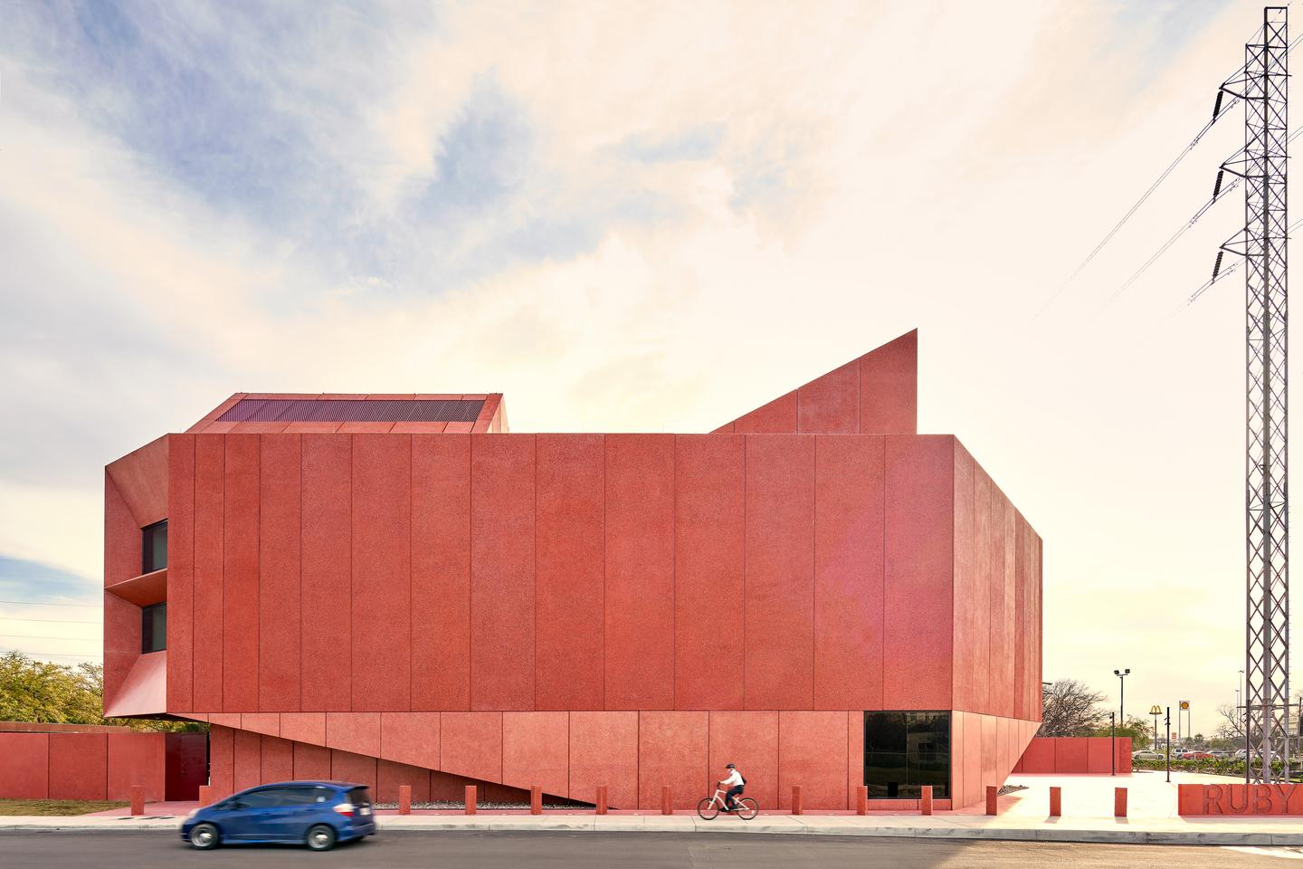 Ruby City is an arts center in San Antonio, Texas. The proejct was completed in 2019