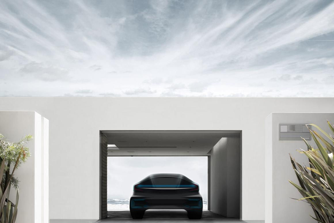 Faraday Future teases its first car