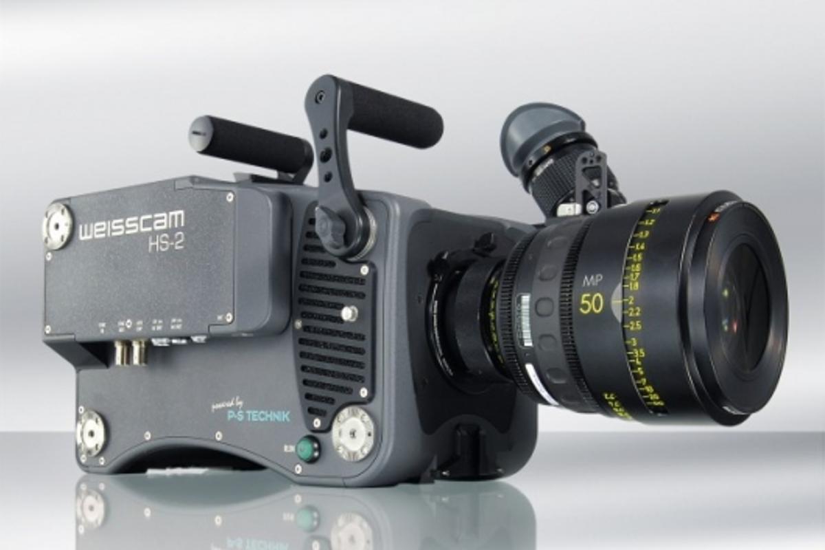 The Weisscam HS-2 digital high speed camera