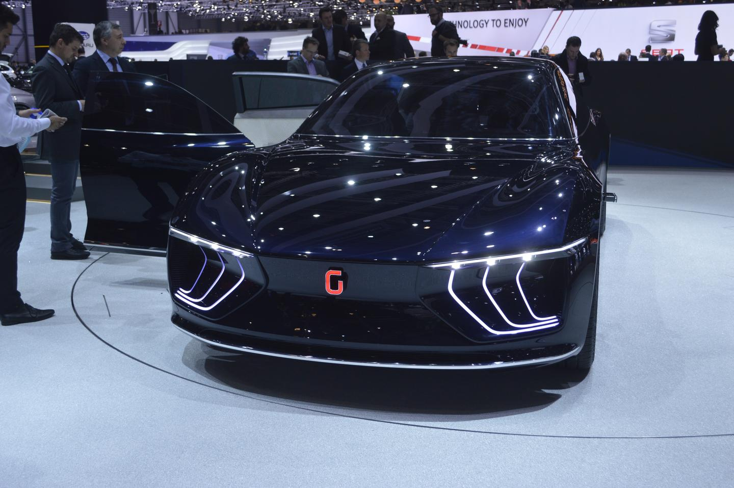 The Italdesign Giugiaro GEA is a new concept exploring the luxury autonomous car of the future (Photo: C.C. Weiss/Gizmag.com)