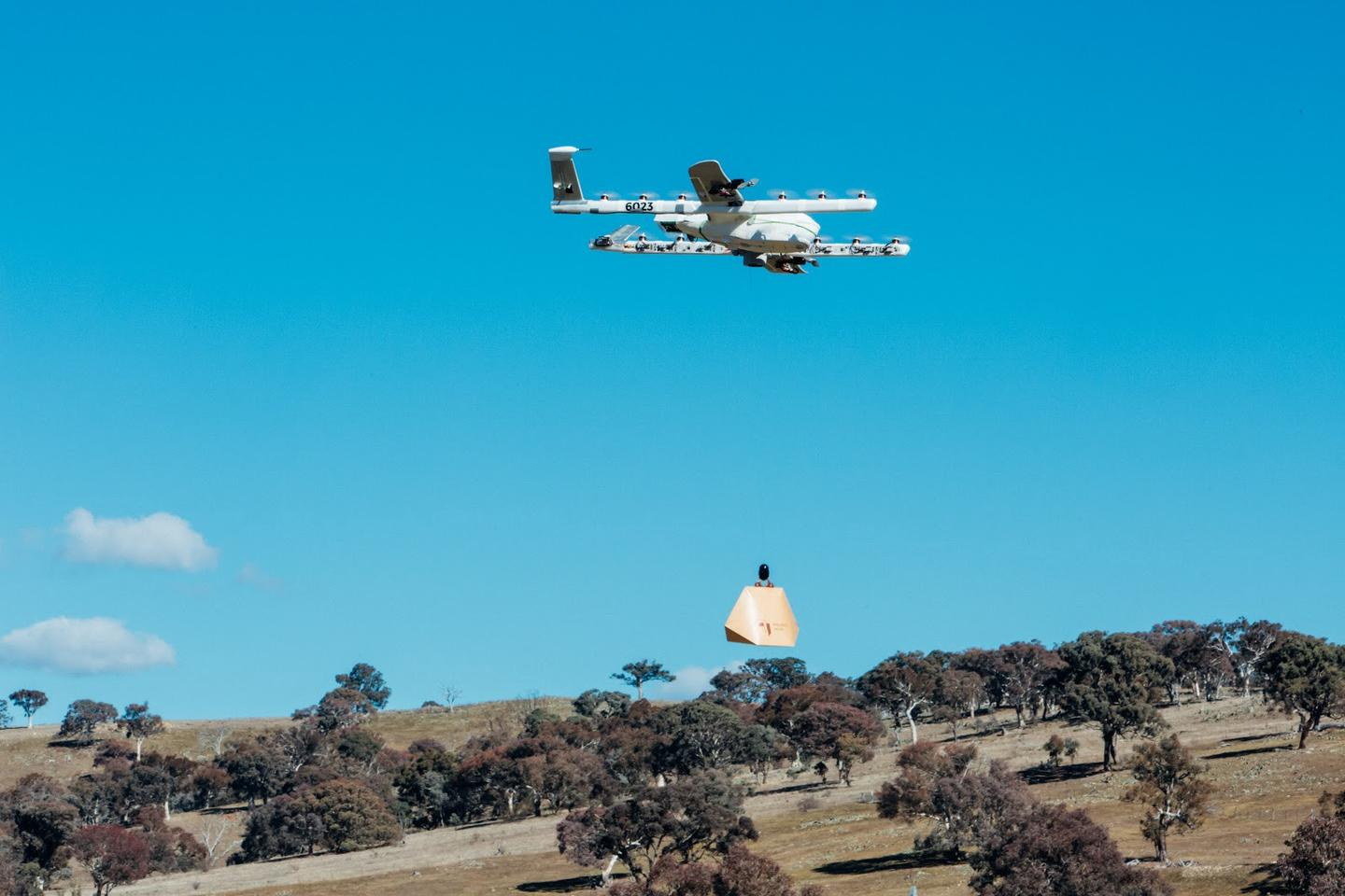 For folks living on the outskirts of the Australian Capital Territory in the country's southeast, a forgotten bottle of milk or carton of eggs can mean a 40-minute round trip to the store. Delivery drones may be part of a solution