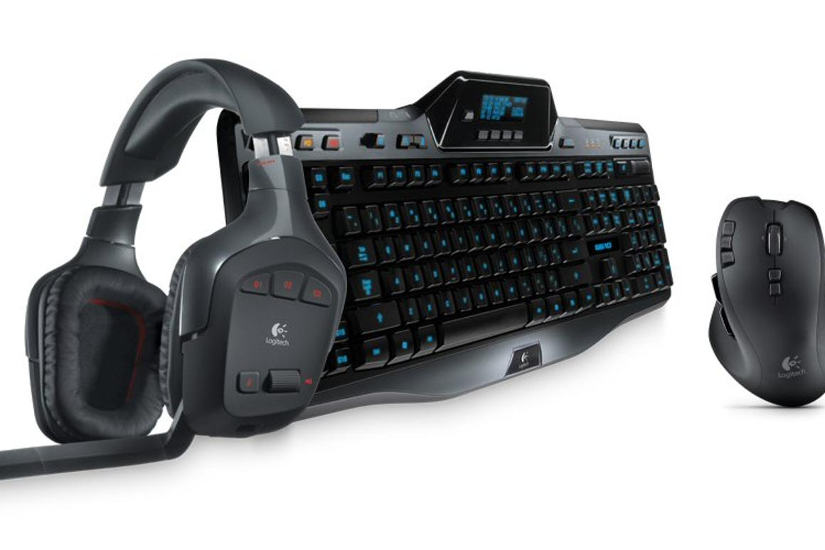 Logitech has added a wireless surround sound headset, a 13-button mouse and a keyboard complete with stats updating LCD to its G-Series gaming range