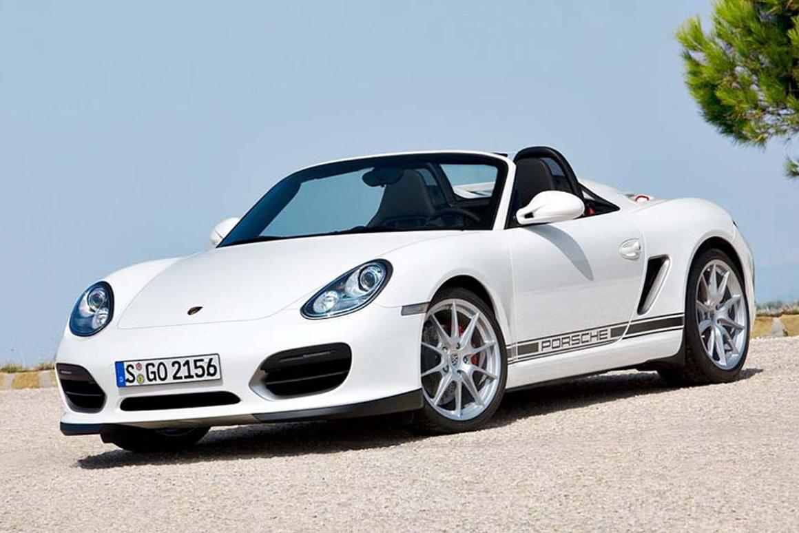 Boxster Spyder - new Porsche roadster to debut in LA