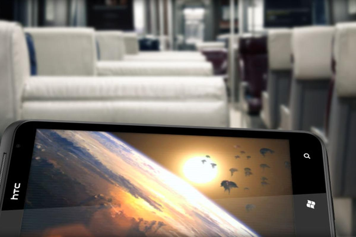 HTC TITAN - 4.7-inch WVGA 480x800 pixel display