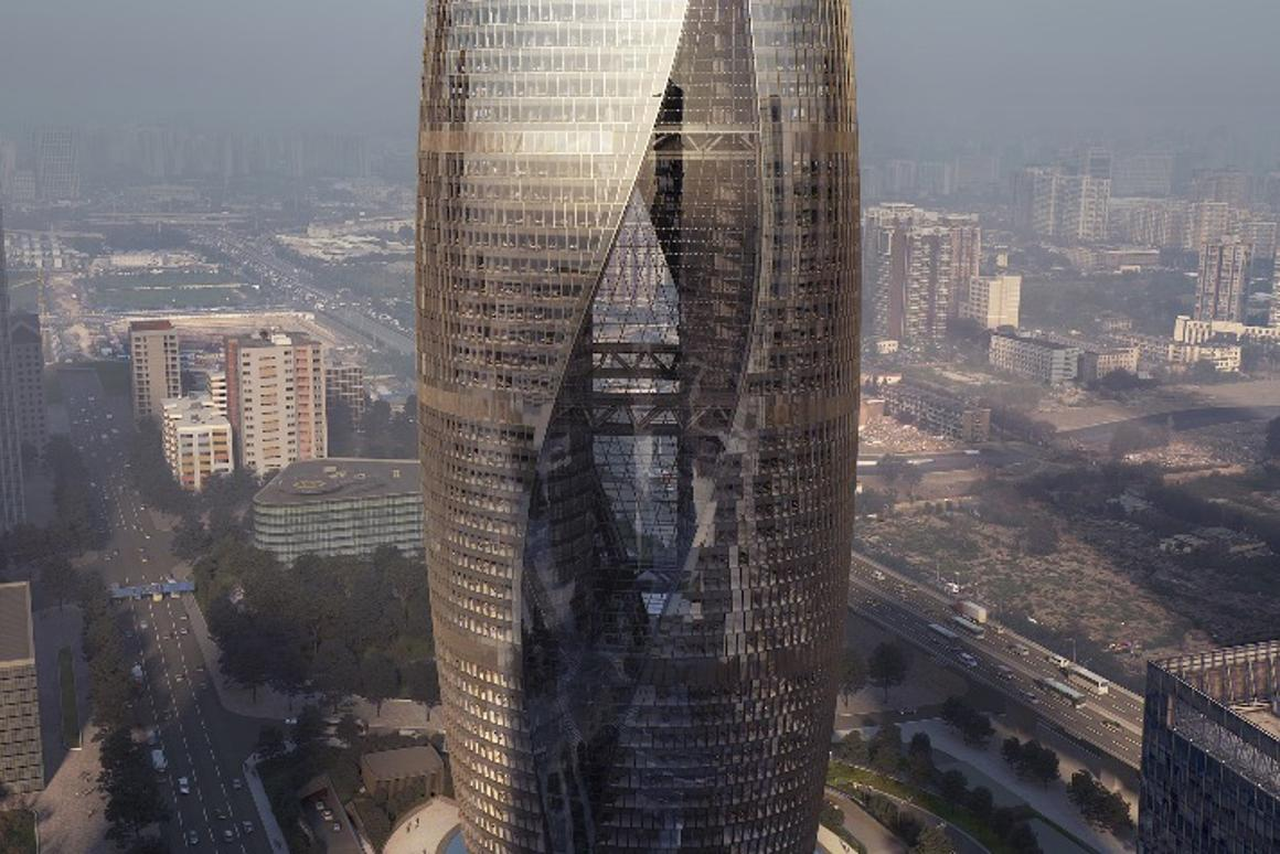 TheLeeza Soho is expected to reach its full height in September this year, whilethe tower's completion isplanned for late 2018