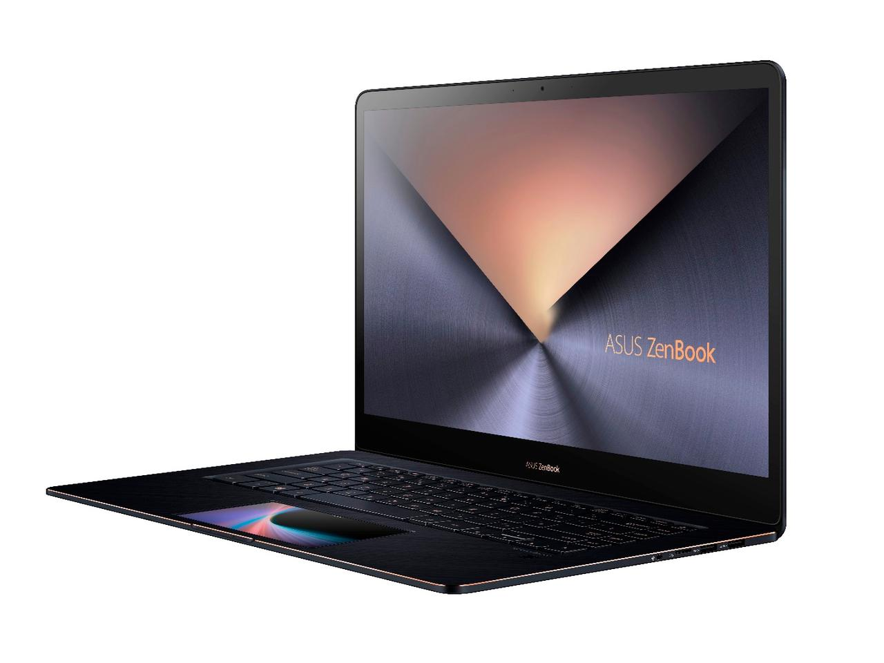 "The ZenBook Pro 15 has been designed for ""demanding professionals who value power, top-end specifications, and innovation in an elegant design"""
