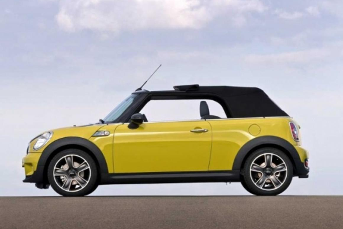 The second incarnation of the MINI Convertible