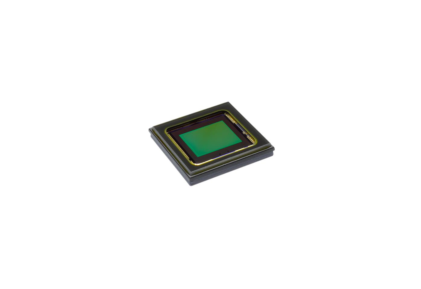 The Pentax Q's backlit, 12.4 megapixel, 1/2.3 inch (6.16 x 4.62 mm) CMOS image sensor