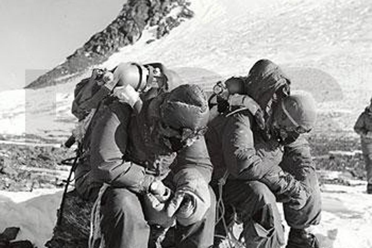 Evans and Bourdilon (Image credit: Royal Geographical Society)