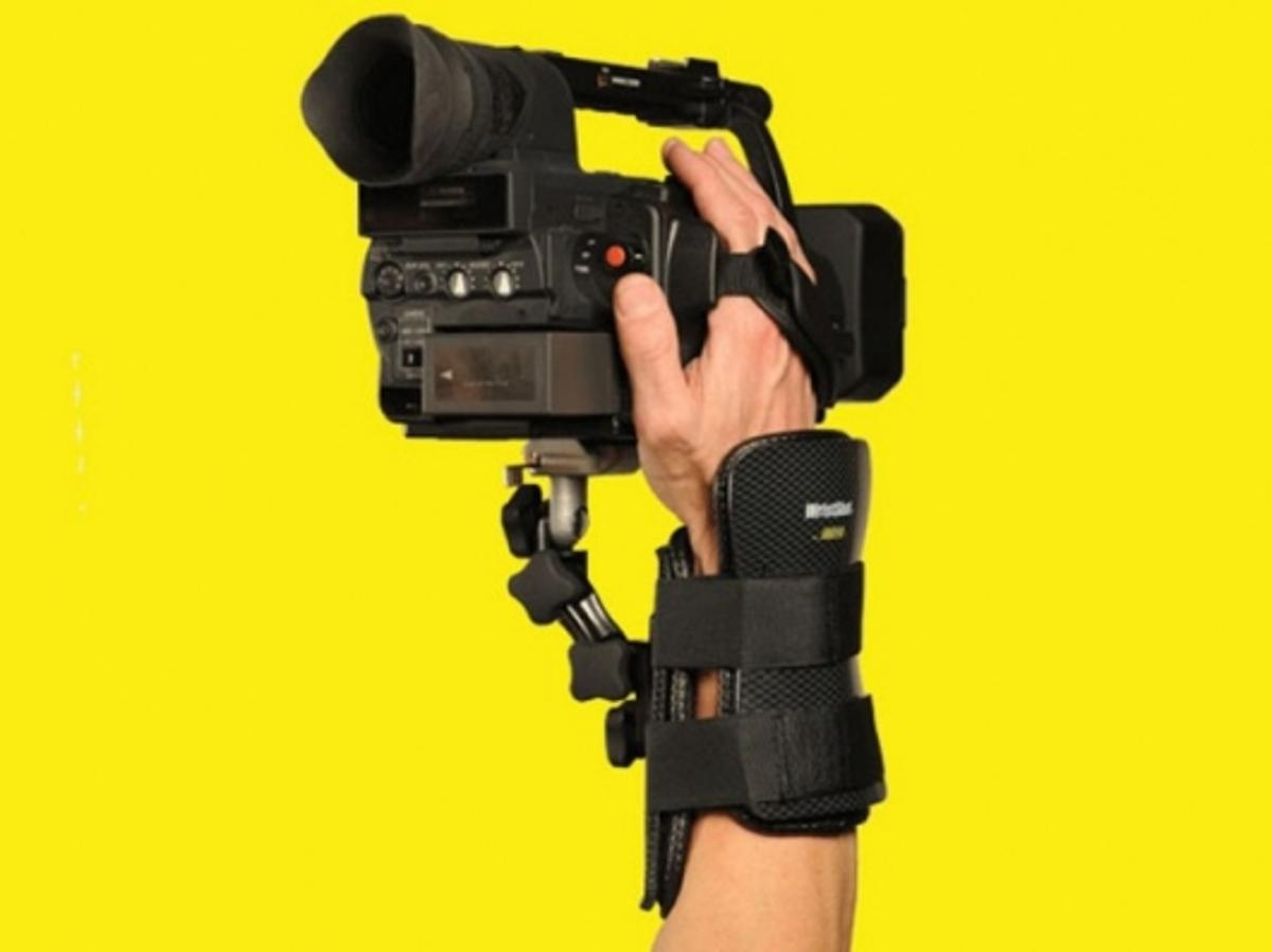 The WristShot makes filming yellow walls easy
