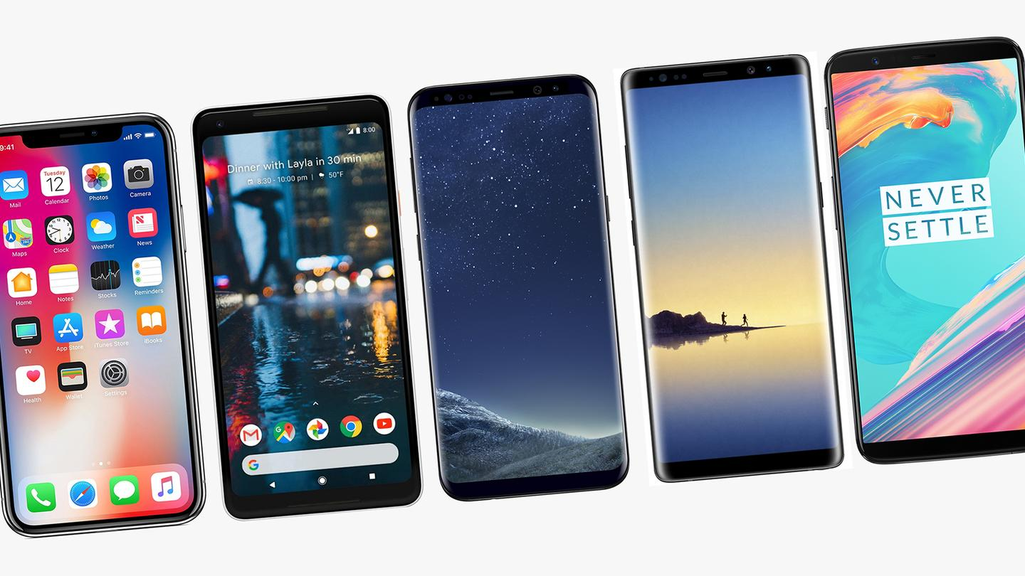 It's been quite a year for smartphones, but which are the best of the bunch?