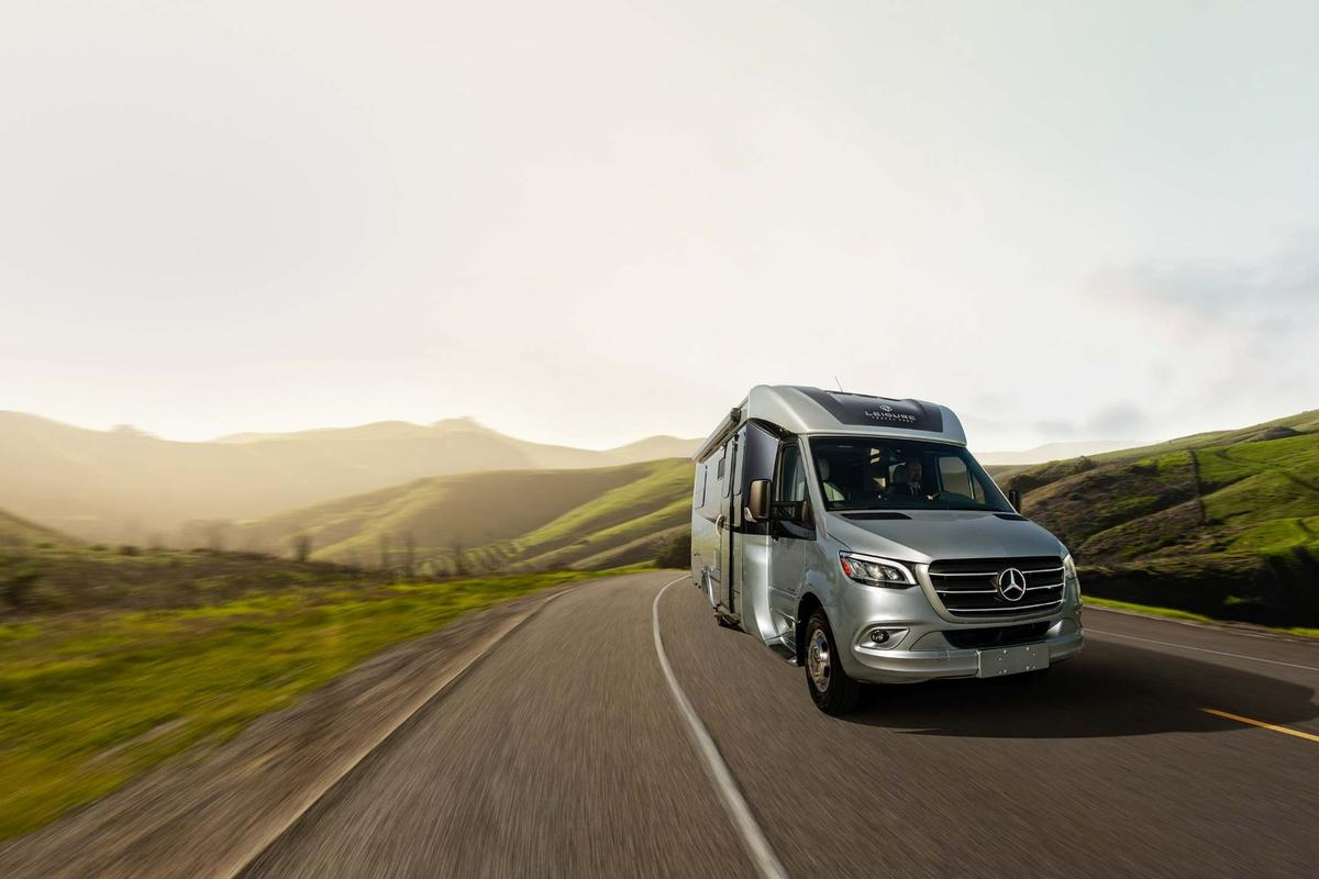 Whether working from the road or traveling on part/full-time vacation, the Leisure Travel Vans Unity RL looks like a very capable, comfortable option for two+ people