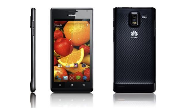 Huawei's Ascend P1 smartphone could be a true Android competitor
