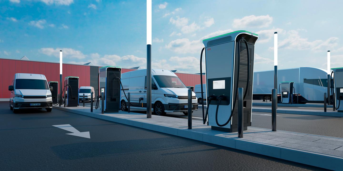 ABB's new Terra 360 charger is described as the most powerful EV charger in the world