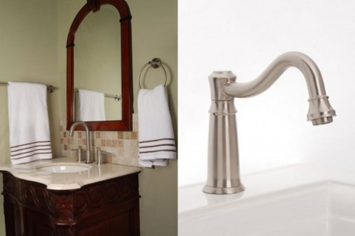 Sensa Field automatic faucets utilize capacitive sensor technology
