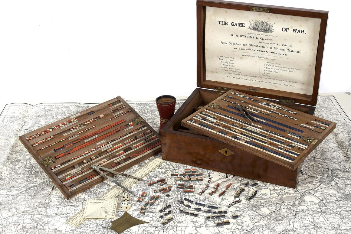 """The """"Game of War"""" package that is being auctioned off in London"""