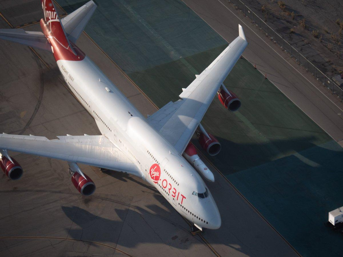 For some time now, Virgin Orbit and its imaginative CEO Richard Branson have been talking about fixing a rocket to the wing of a modified 747 and using it to fire satellites into space