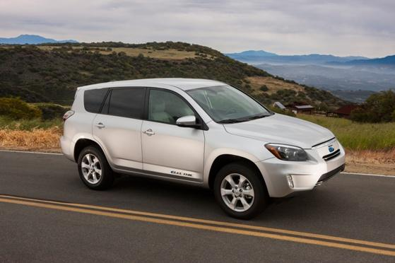 The RAV4 EV is the first all-electric SUV available in the United States