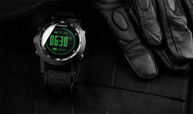 The new Garmin Tactix has your wrist, on covert operations and recreational missions alike