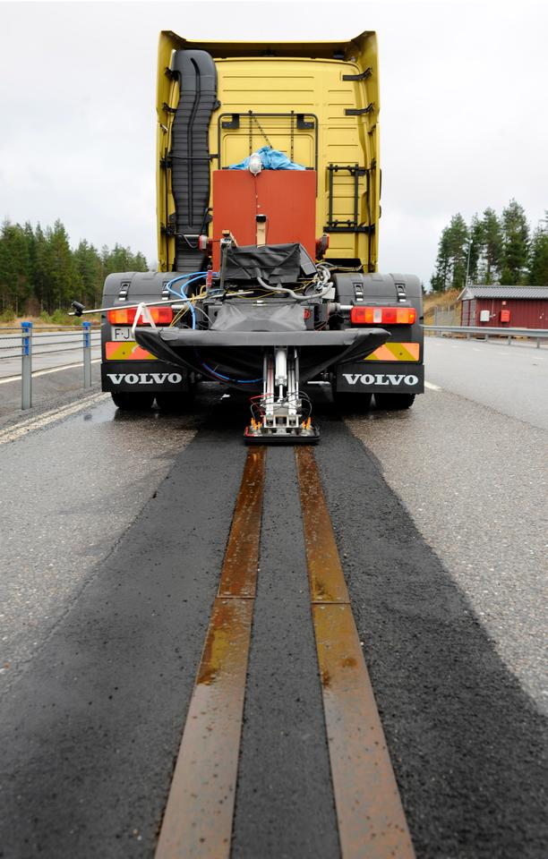 Volvo has been testing the technology at a 400 meter-long test track in a facility in Hällered near Gothenburg since last year