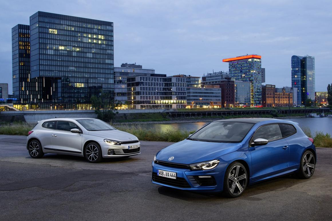 The new VW Scirocco is available with a wide range of petrol and diesel engines