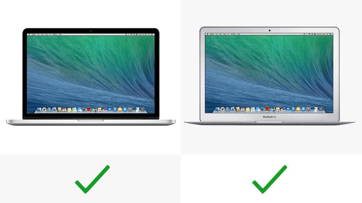 Both MacBooks have backlit keyboards