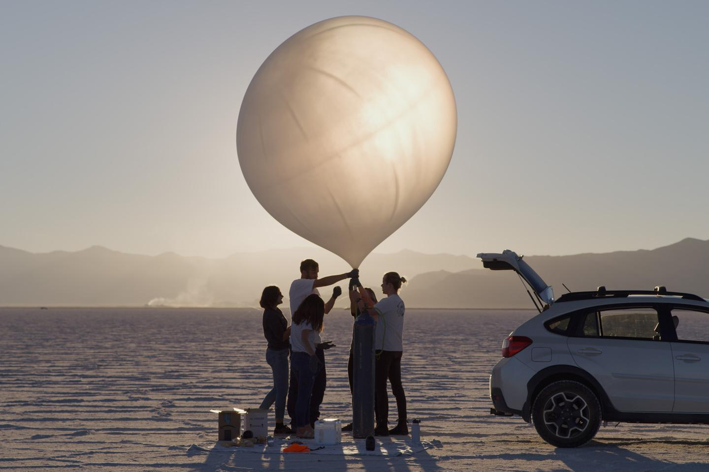 Spaceloon hopes its patent-pending balloon technology will shed light on the mesosphere