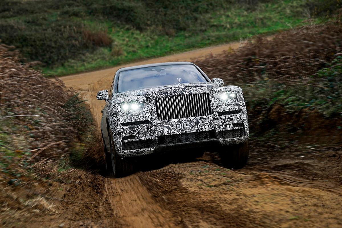 Who said you shouldn't get a Rolls-Royce muddy?