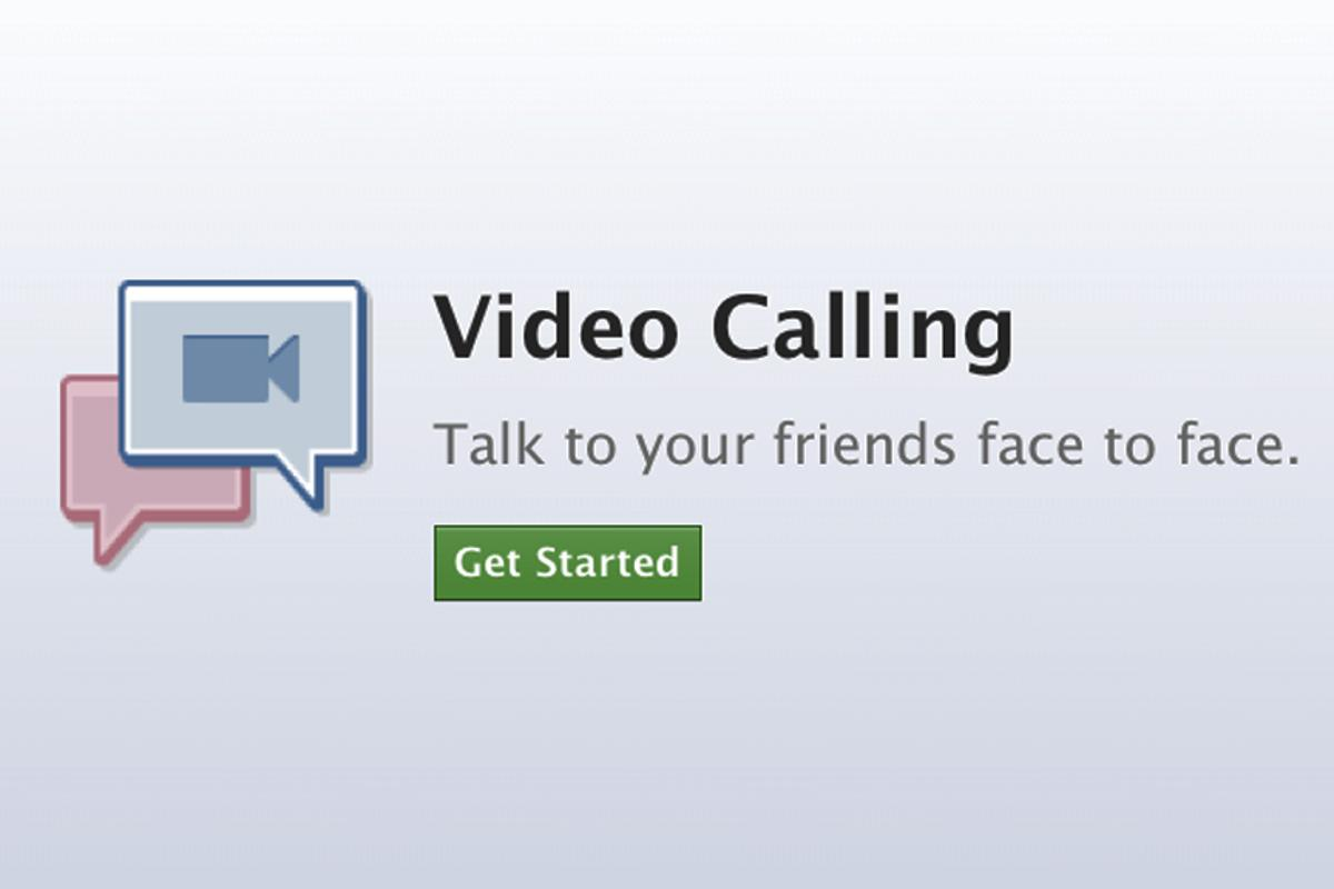 Facebook has announced Skype-powered video calling for its users