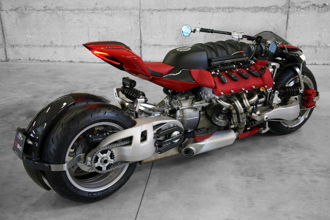 Lazareth LM 847: a machine that takes horsepower to the extreme