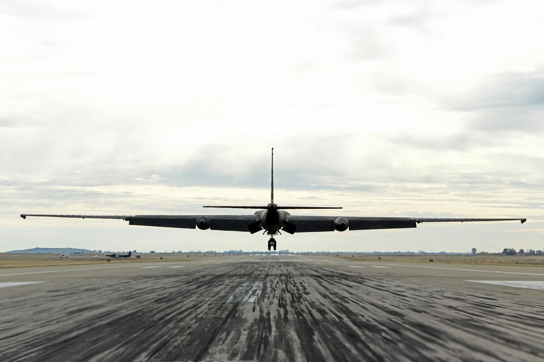The U-2 Dragon Lady taking off