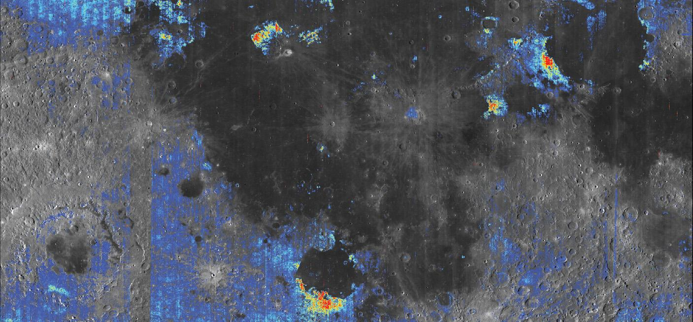 Scientists found evidence of water in nearly all large volcanic deposits to have been mapped on the Moon's surface