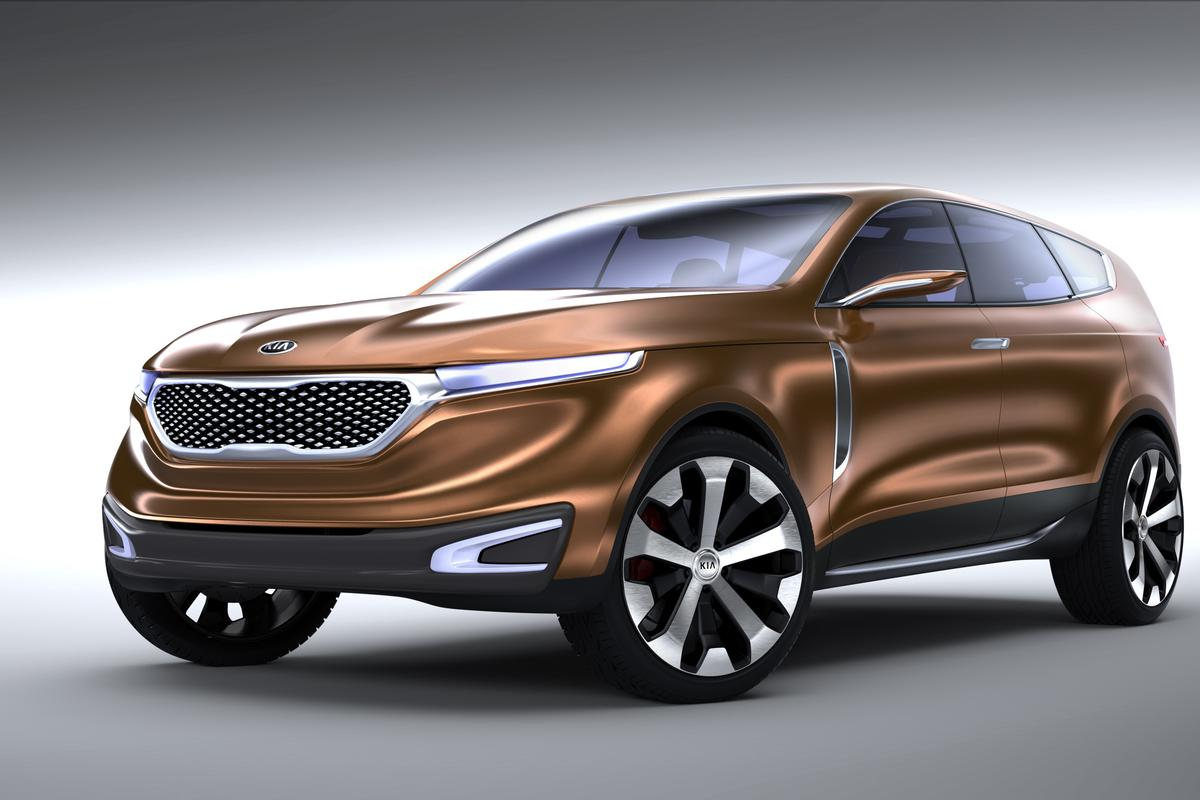 The Cross GT Concept CUV unveiled by Kia at the 2013 Chicago Auto Show