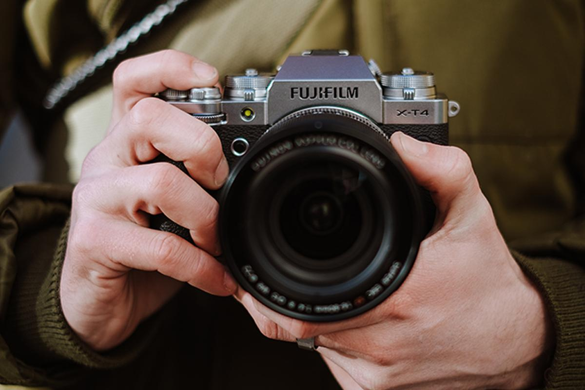Camera shake is shown the door with the upcoming X-T4 mirrorless flagship