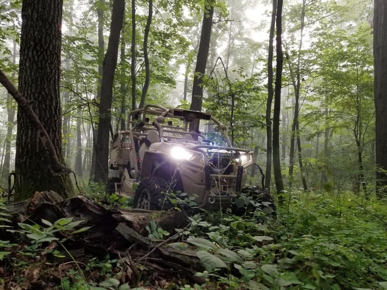 The MRZR X is a robotic, multi-role vehicle