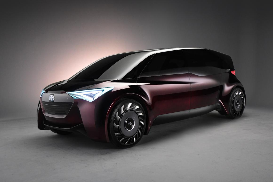 Toyota is no stranger to forward-thinking, make that very forward-thinking concepts