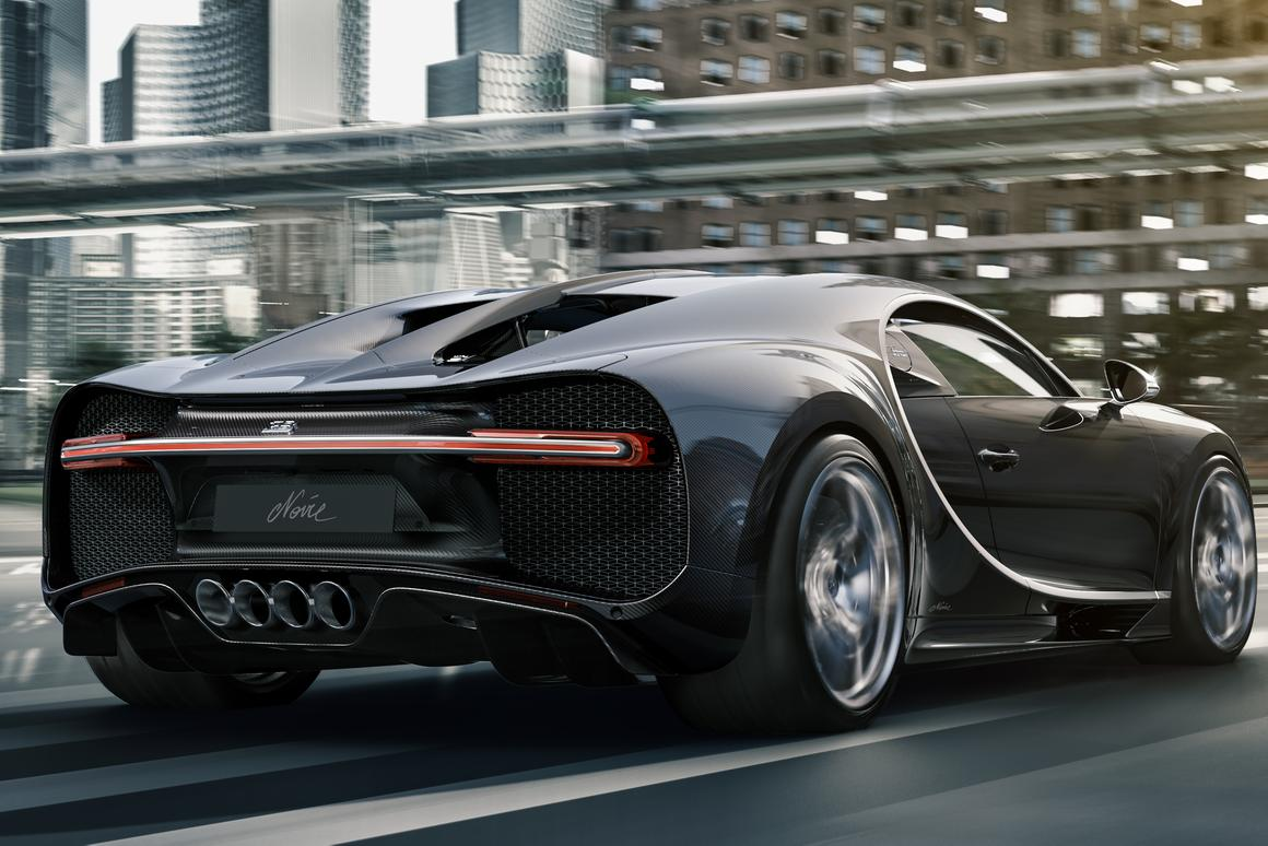 Bugatti went black with La Voiture Noire, and now it can't go back