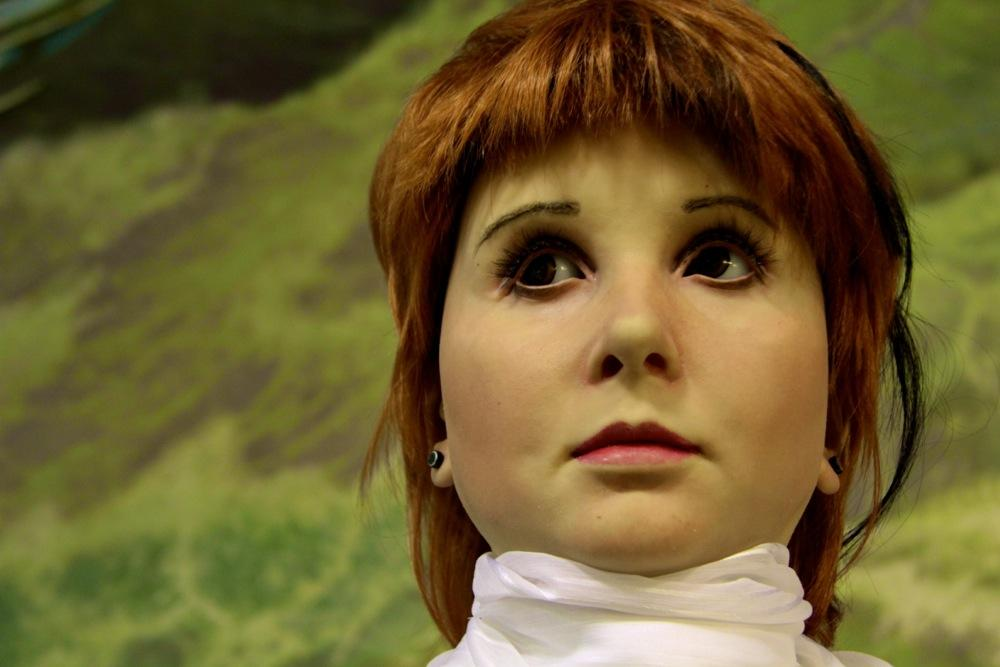 Alissa is a Russian android built by Moscow-based Neurobotics (Photo: Mikhail Shcherbakov / Michael Vokabre)