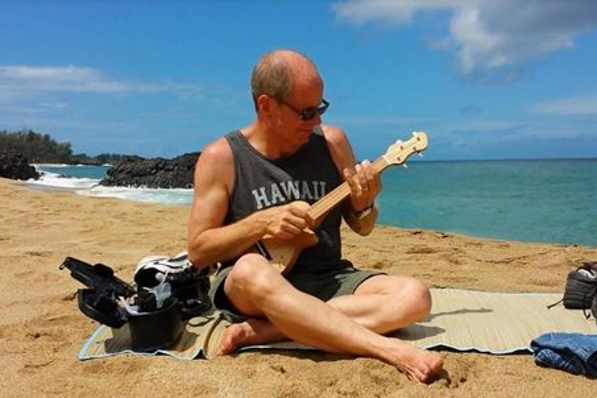 The Ukelation electric ukulele from Monty Ross