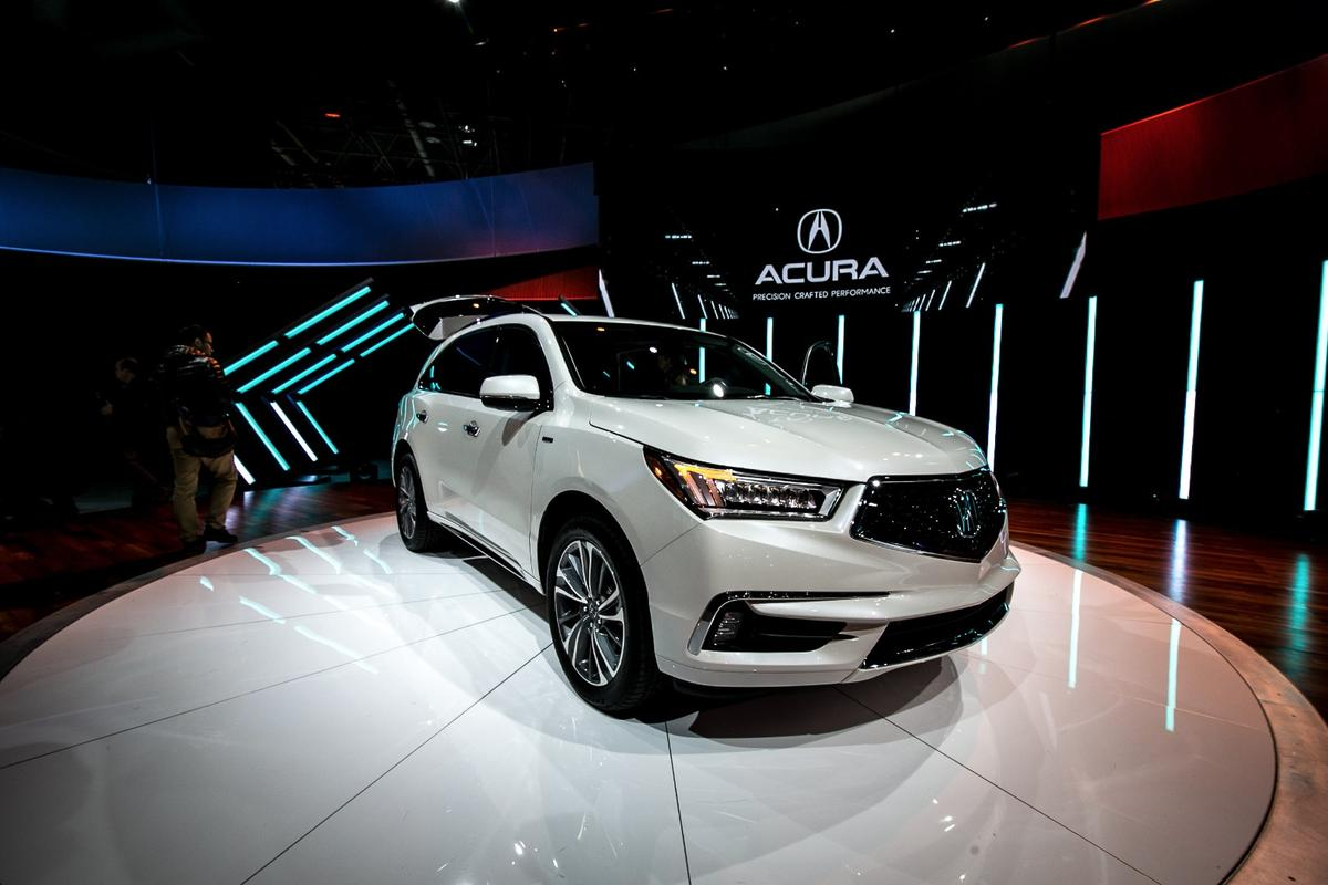 Acura is trying to give itself a new identity with this car