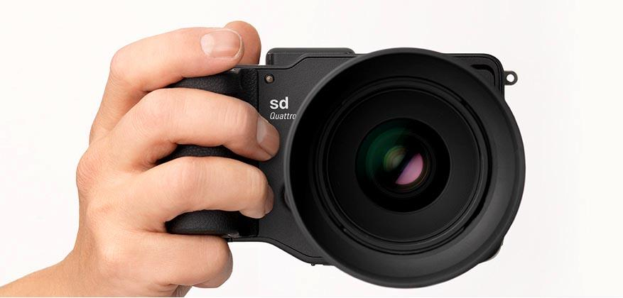 The Sigma sd Quattro is a quirky-looking mirrorless camera