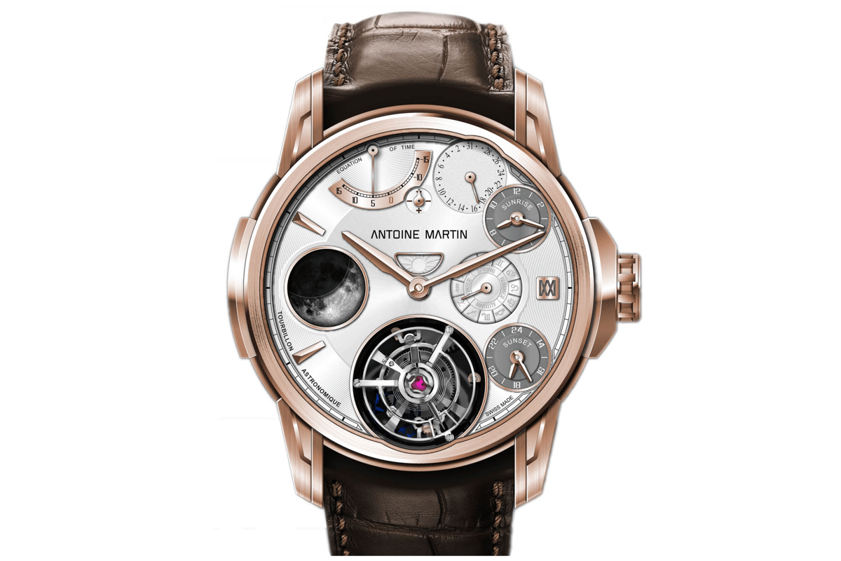 The Tourbillon Astronomique was displayed at Baselworld