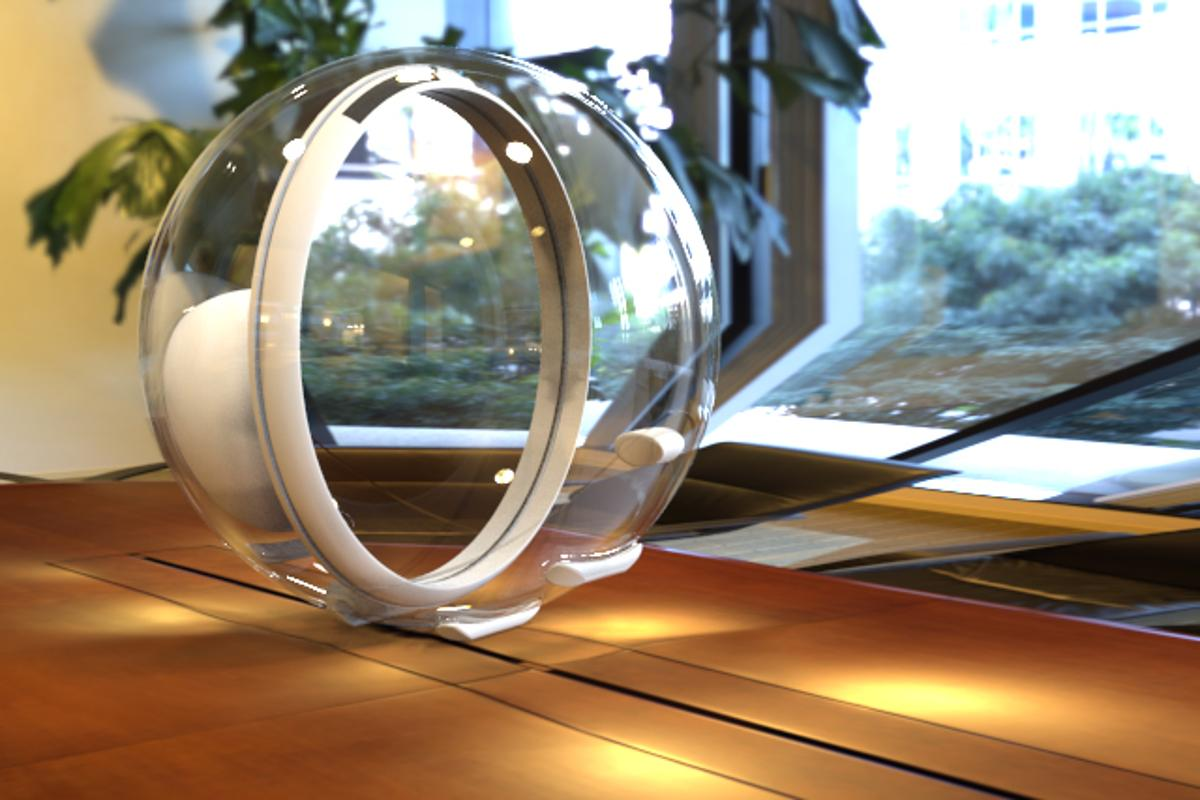 Lucy tracks the movement of the sun automatically, illuminating the user's chosen space with up to 7,000 lumens of natural light throughout the day