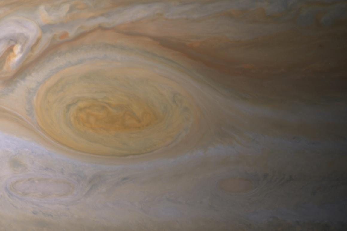 Jupiter's Great Red Spot may be caused by the sun and not some internal phenomenon as previously thought (Image: NASA/JPL-Caltech/ Space Science Institute)