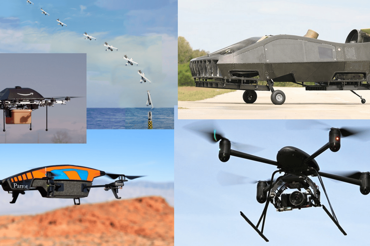 Gizmag looks back at the top five drone stories of 2013