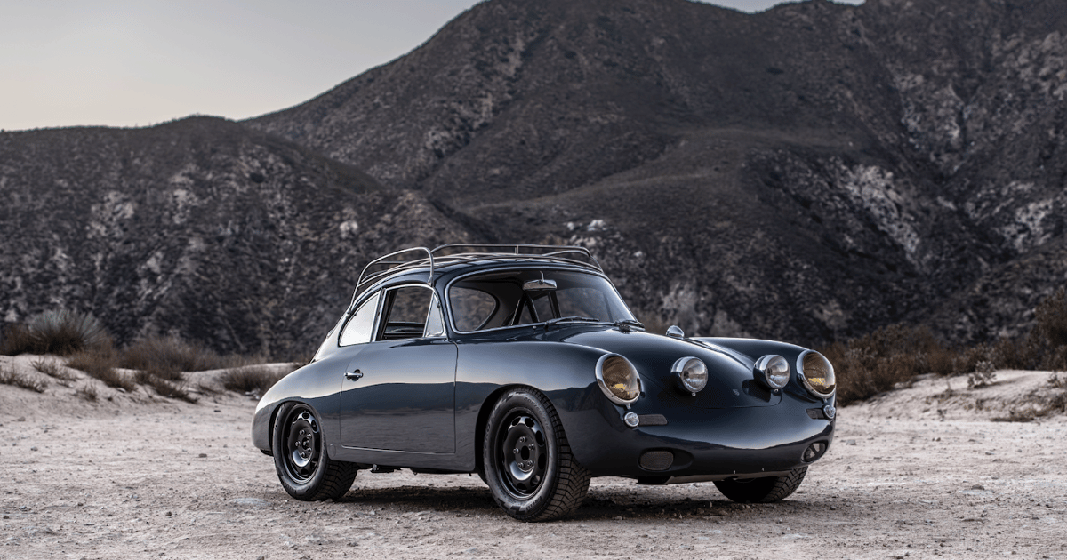"Emory turns classic Porsche 356 into all-terrain, rally-inspired ""all rad"" machine"