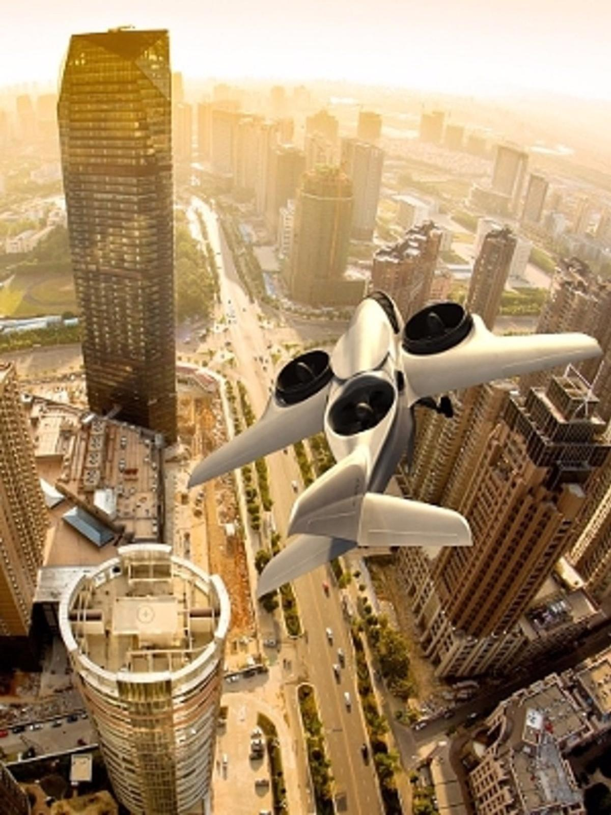 Artist's concept of the TriFan 600, which is the subject of an equity crowdfunding campaign